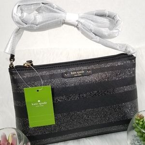Black and Silver Kate Spade